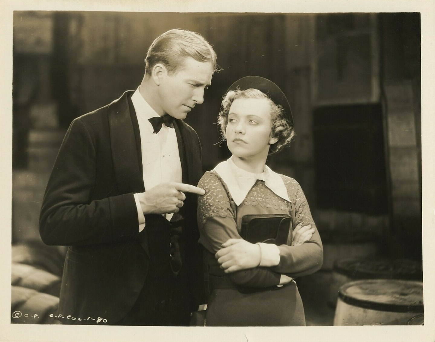 Maxine Doyle and David Manners in Lucky Fugitives (1936)