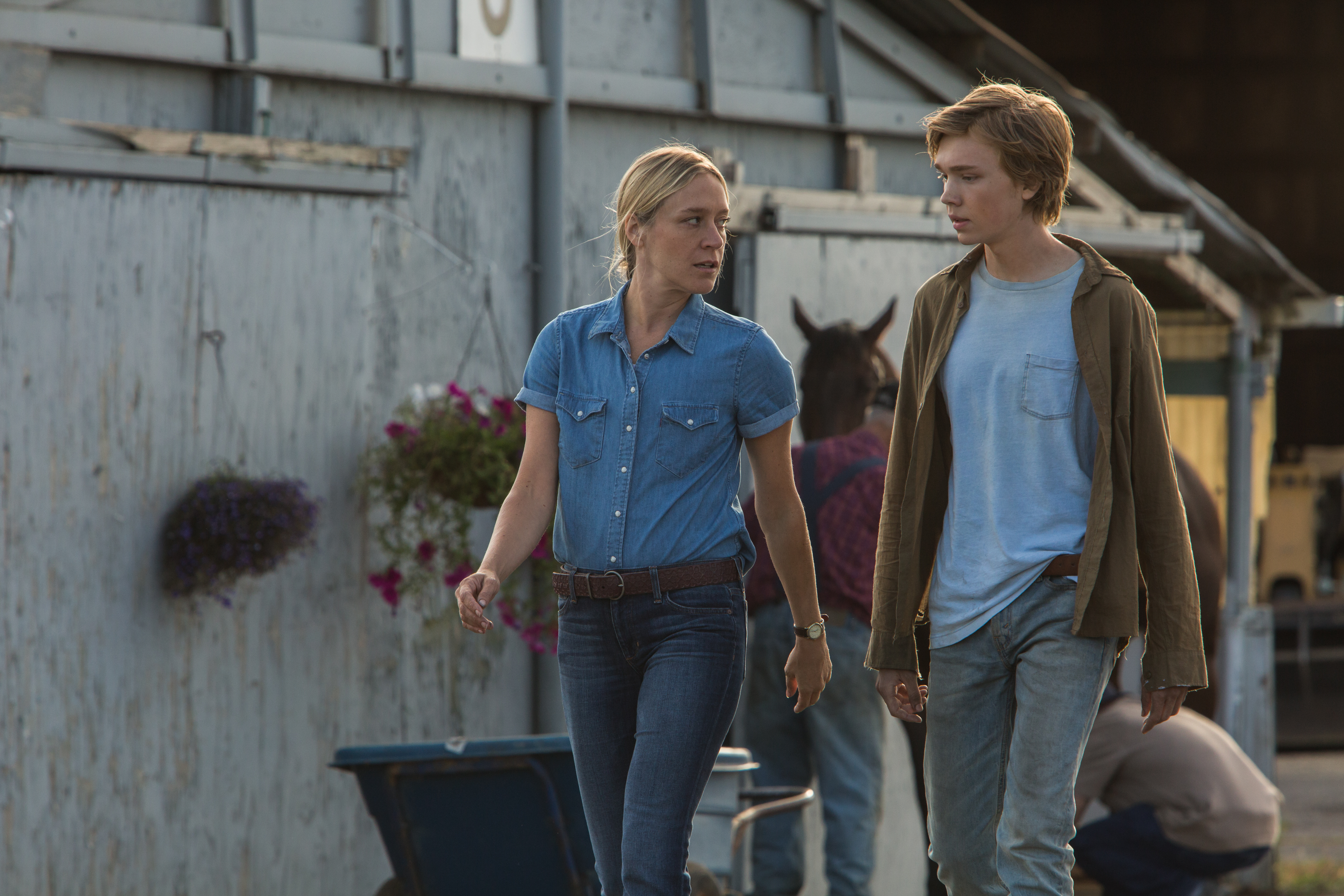 Chloë Sevigny and Charlie Plummer in Lean on Pete (2017)