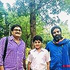 Charan Ram, Ravi Kishore, and Thirumala Kishore in Red (2021)