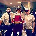 Matt Dilliner, Jacob Schick, and Thomas Gregory in Pizza Dude (2019)
