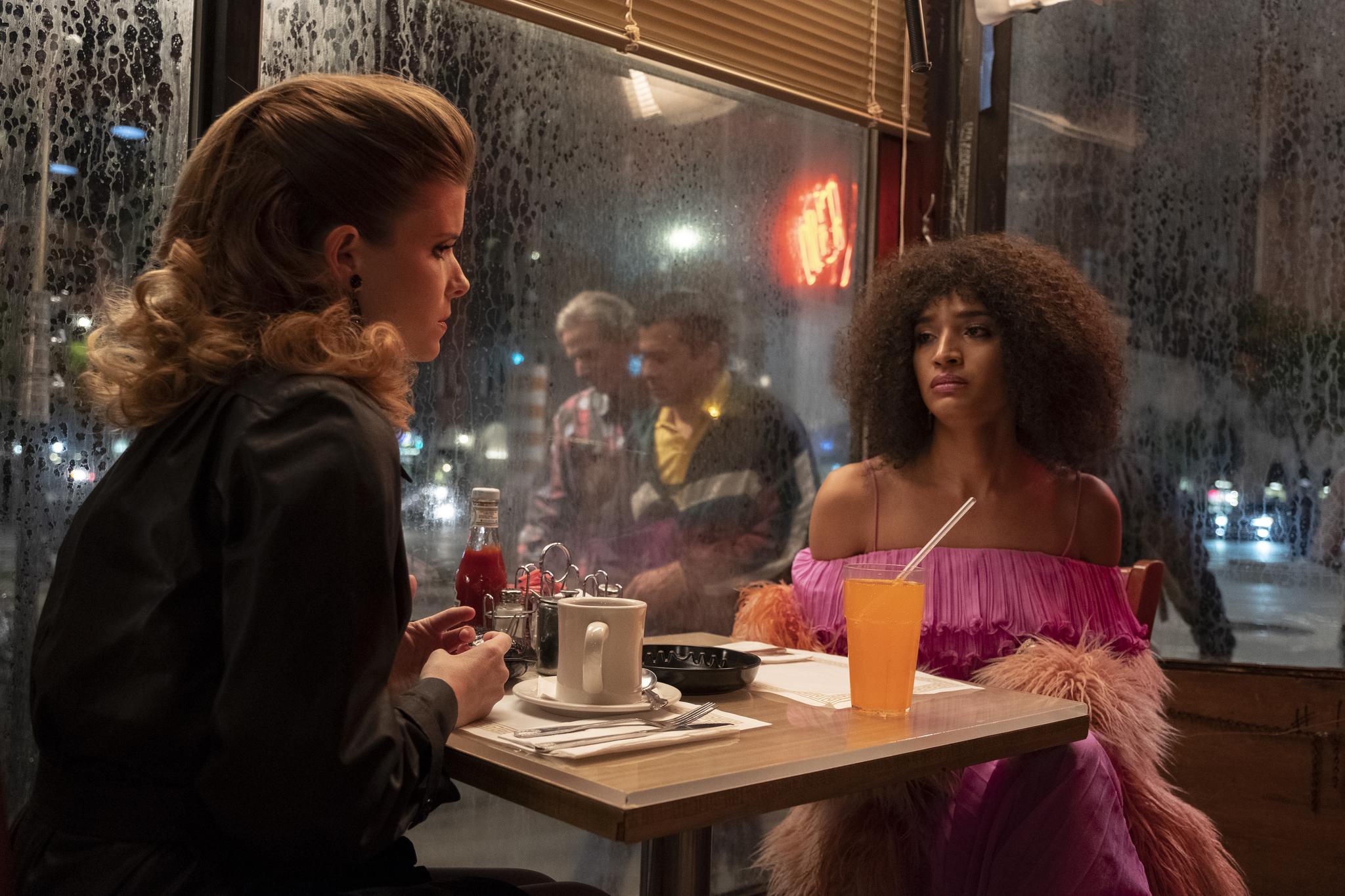 Kate Mara and Indya Moore in Pose (2018)