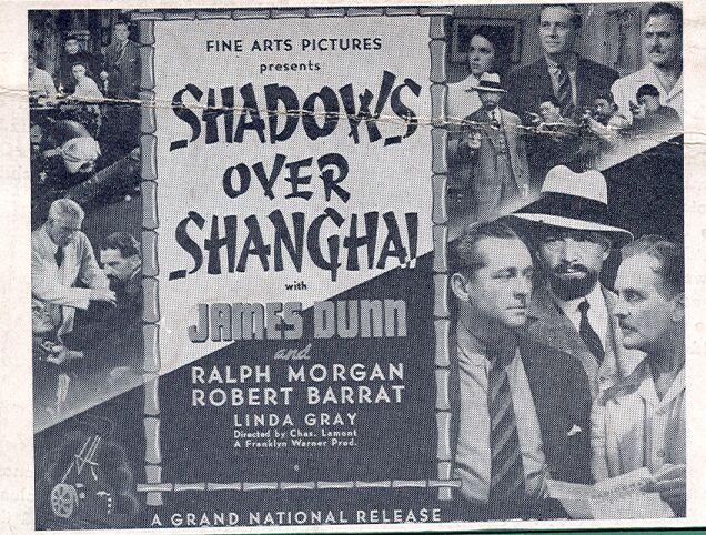 James Dunn, Robert Barrat, Lynda Grey, and Ralph Morgan in Shadows Over Shanghai (1938)