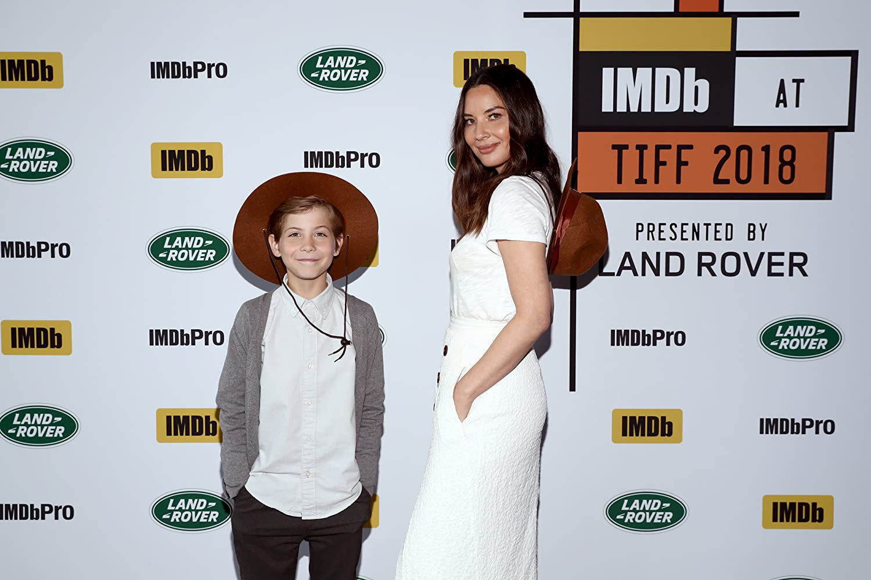 Olivia Munn and Jacob Tremblay
