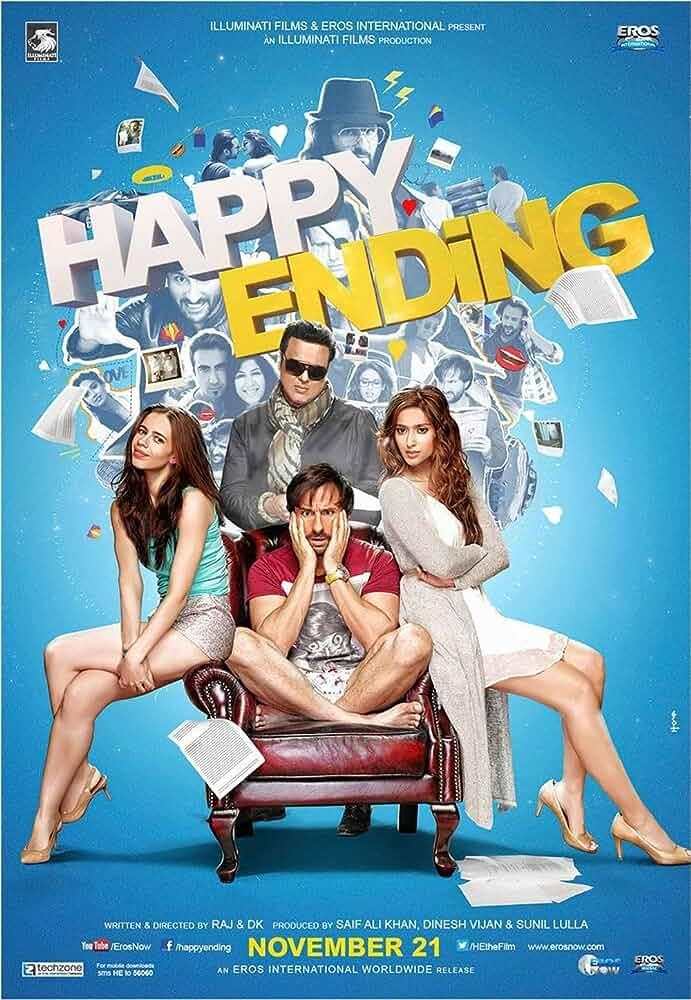 Happy Ending (2014) Hindi WEB-DL x264 AAC Esub