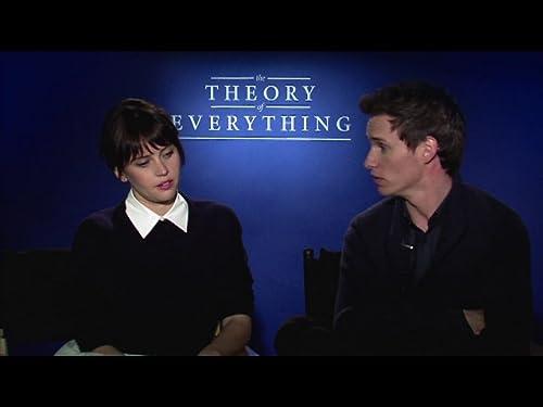Q&A with Felicity Jones & Eddie Redmayne