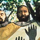 Graham Chapman, Terry Jones, and Michael Palin in Monty Python and the Holy Grail (1975)