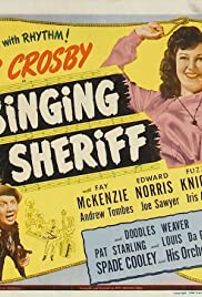 The Singing Sheriff Poster