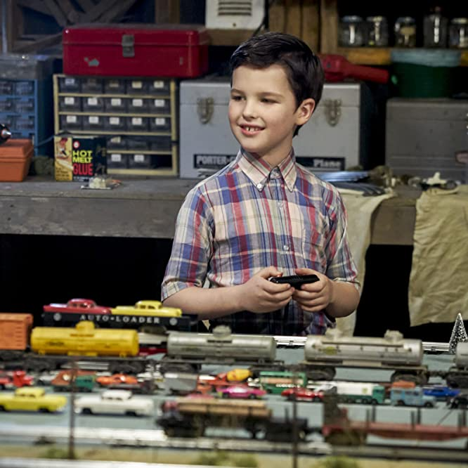 Iain Armitage in Young Sheldon (2017)