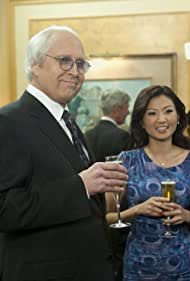 Chevy Chase and Michelle Krusiec in Community (2009)