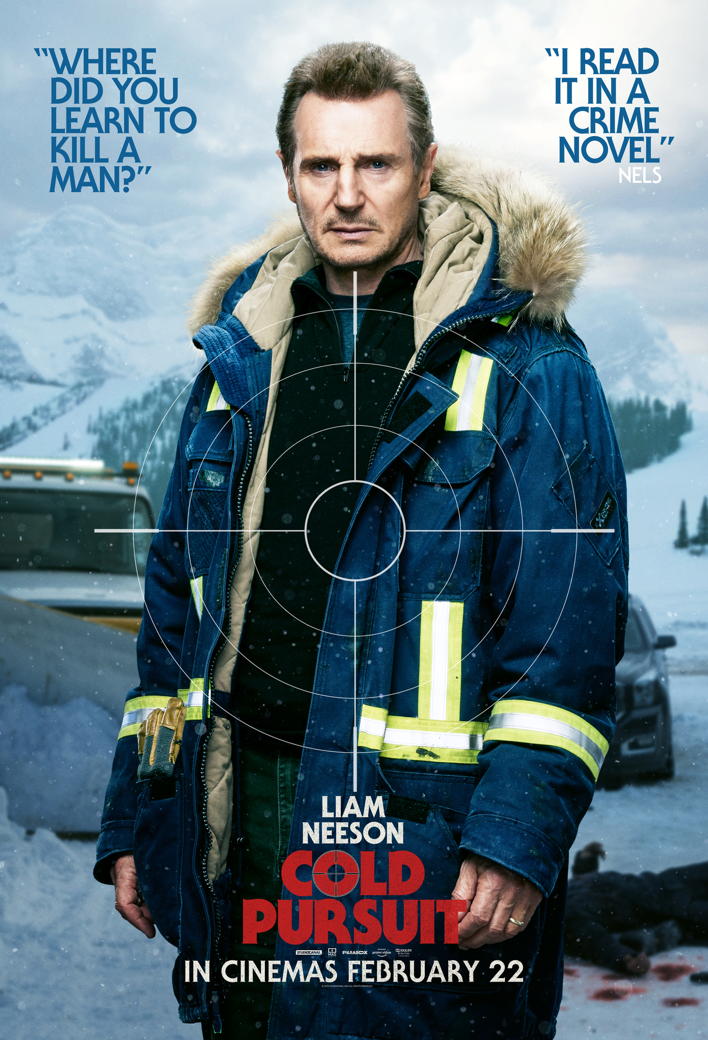 Cold Pursuit 2019 ORG Hindi Dual Audio 480p BluRay ESubs 400MB Download