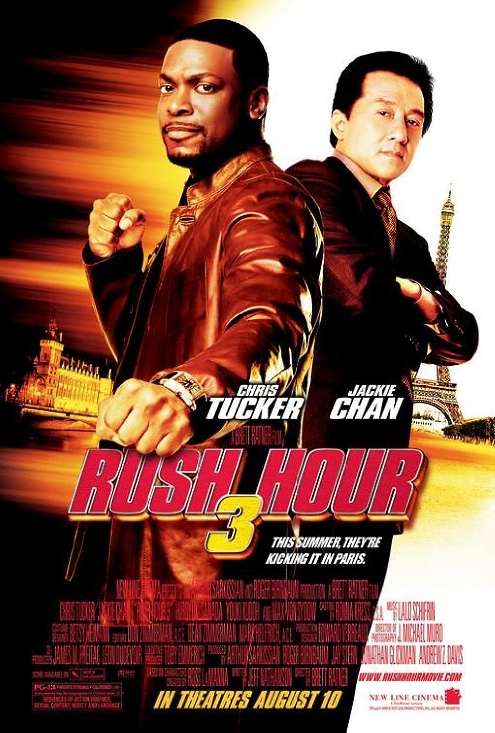 Rush Hour 3 2007 Hindi Dual Audio 330MB BluRay ESubs