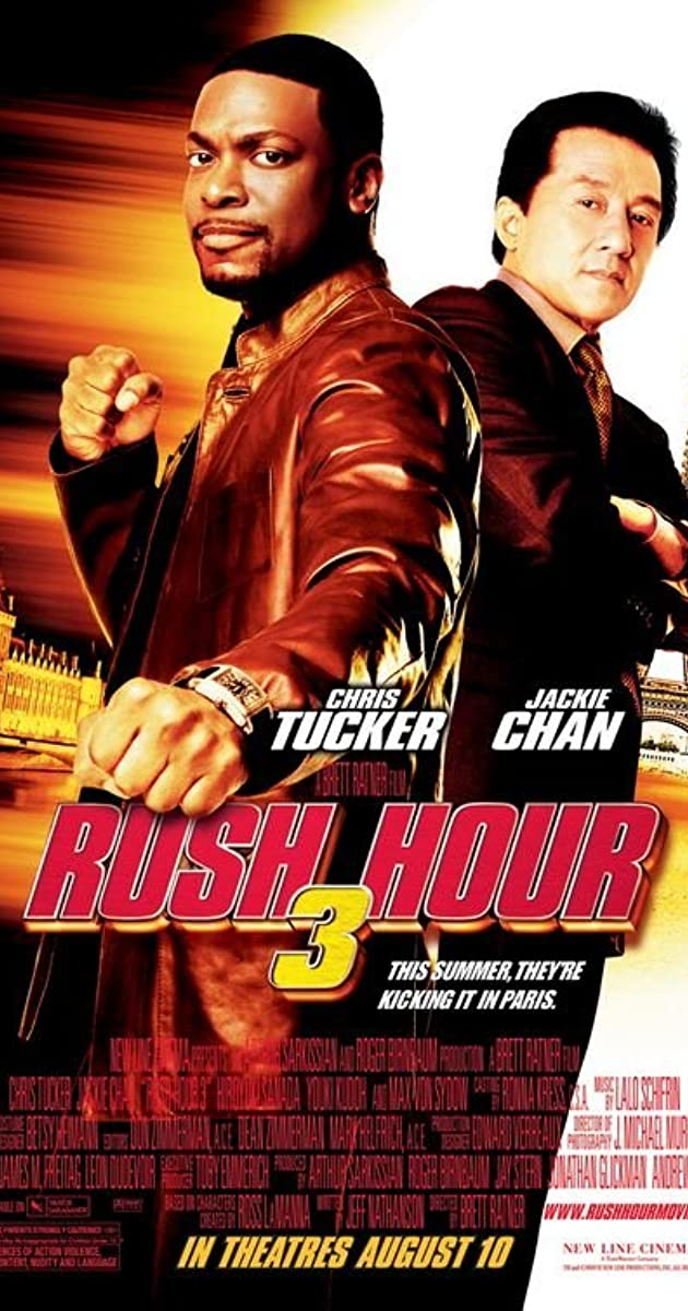 Rush Hour 3 2007 Hindi Dubbed 720p | 480p BluRay ESubs 700MB Download