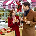 Brant Daugherty and Jen Lilley in Mingle All the Way (2018)