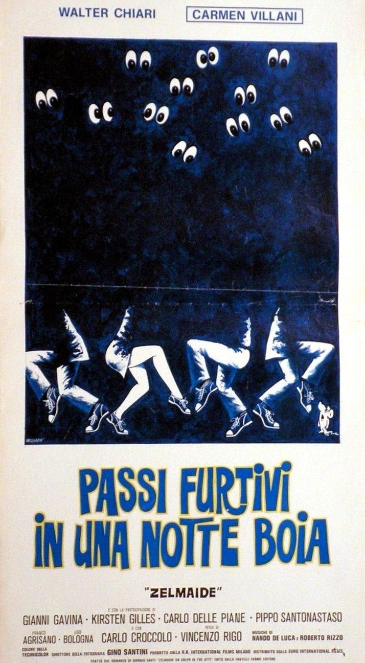 Passi furtivi in una notte boia (1976)