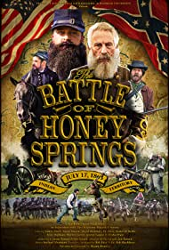 Bryan Beasley, Jaime Roman, Warren Gavitt, David Burkhart, Jon Roman, Jeremy Gauna, Aaron Napier Martin, Sidney Flack, and Elisha Pratt in The Battle of Honey Springs