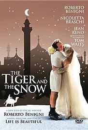 La tigre e la neve Poster