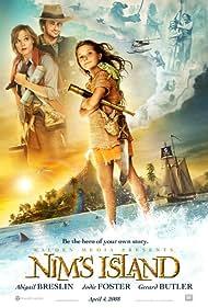 Jodie Foster, Gerard Butler, and Abigail Breslin in Nim's Island (2008)