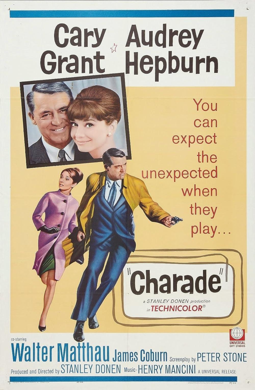 Plakat filma The Charade (1963)
