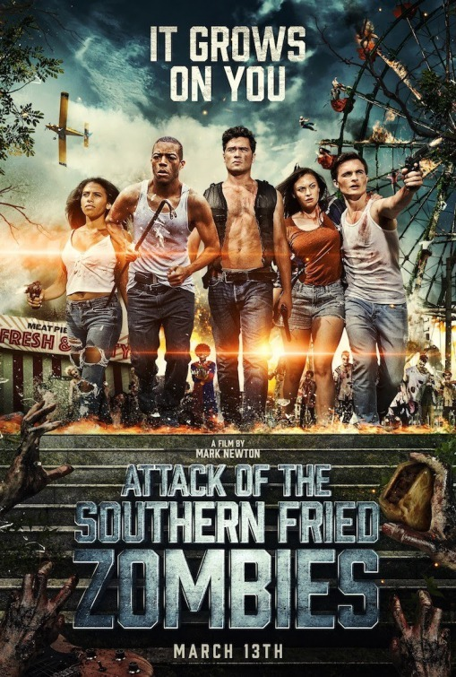 Attack of The Southern Fried Zombies 2017 Dual Audio Hindi 306MB BluRay ESub Download