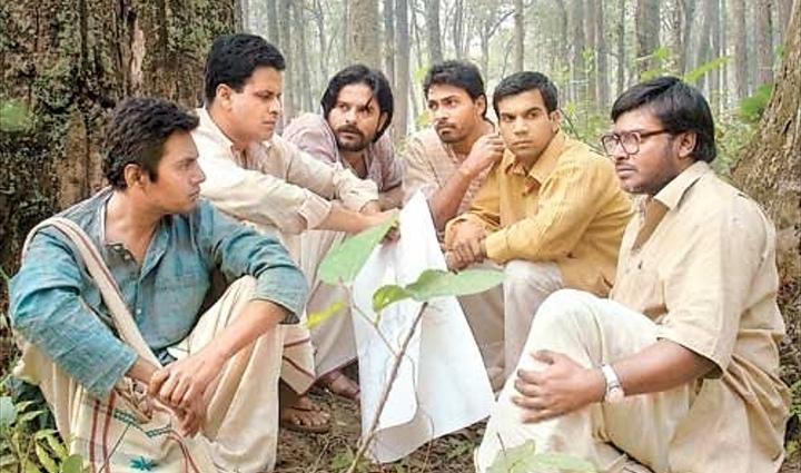Manoj Bajpayee, Dibyendu Bhattacharya, Nawazuddin Siddiqui, Vishal Vijay, Rajkummar Rao, and Jaideep Ahlawat in Chittagong (2012)