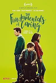 Paul Rudd, Craig Roberts, and Selena Gomez in The Fundamentals of Caring (2016)