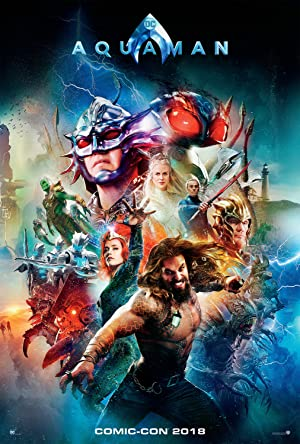 Aquaman 2018 DVDscr Movie Poster