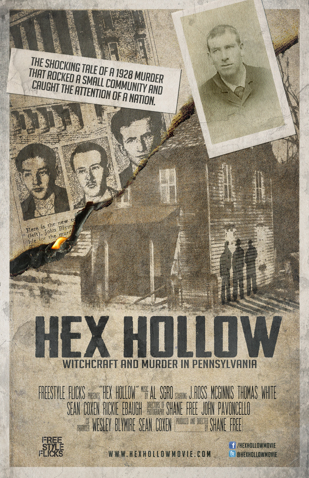 Hex Hollow: Witchcraft and Murder in Pennsylvania on FREECABLE TV