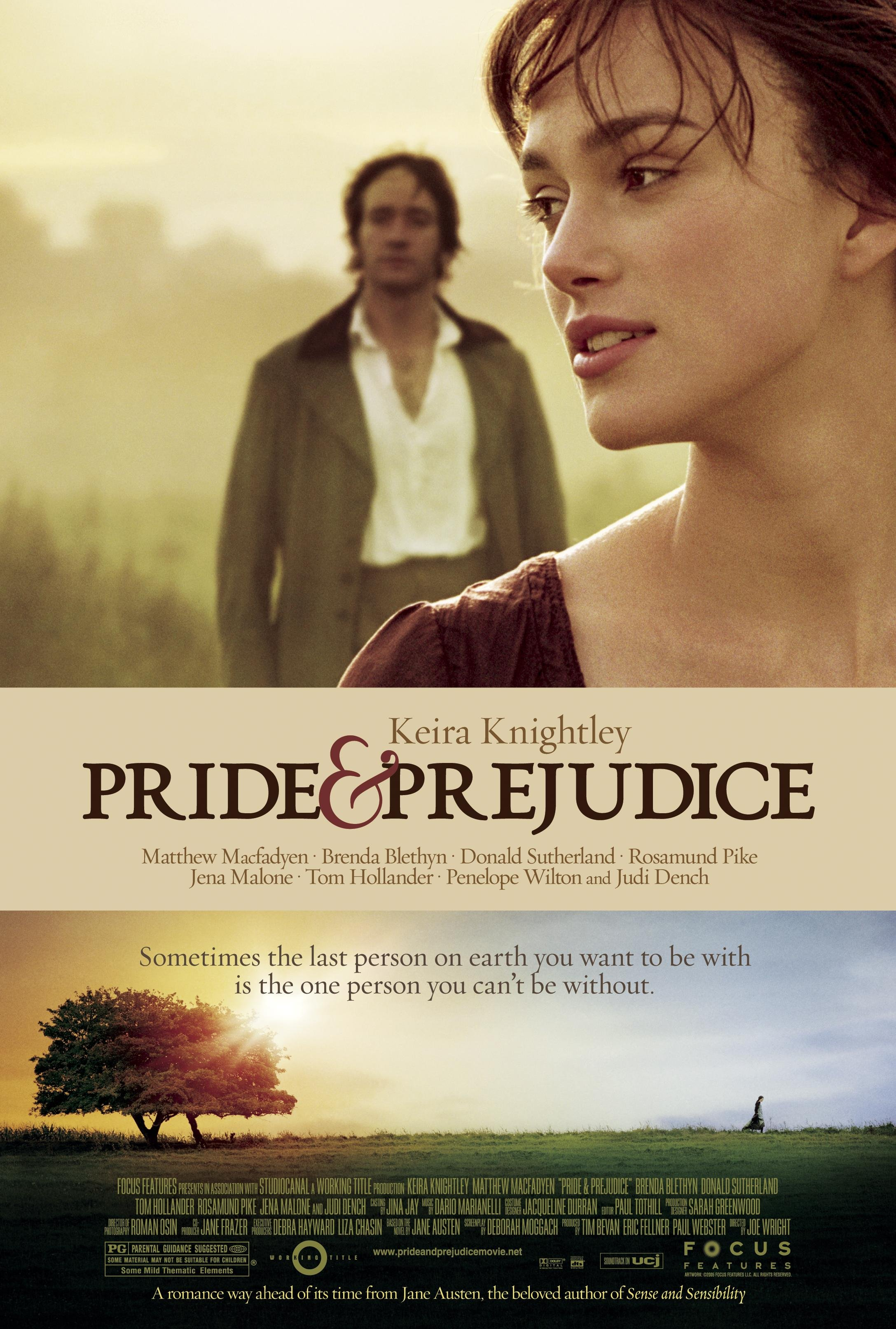 Pride and Prejudice 2005 BluRay 720p 700MB ( Hindi – English ) Esubs MKV