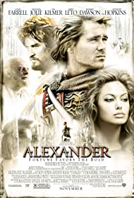 Anthony Hopkins, Val Kilmer, Angelina Jolie, and Colin Farrell in Alexander (2004)