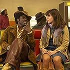 Gbenga Akinnagbe and Kyra Adams in The Deuce (2017)