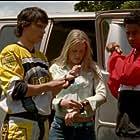 Pua Magasiva, Sally Martin, and Glenn McMillan in Power Rangers Ninja Storm (2003)