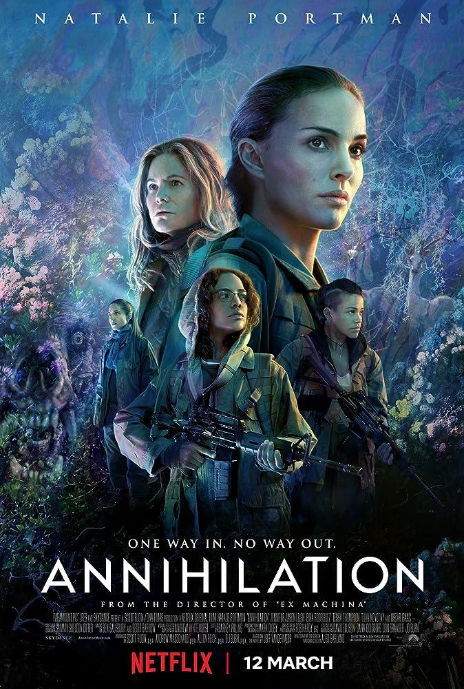 فيلم Annihilation مترجم