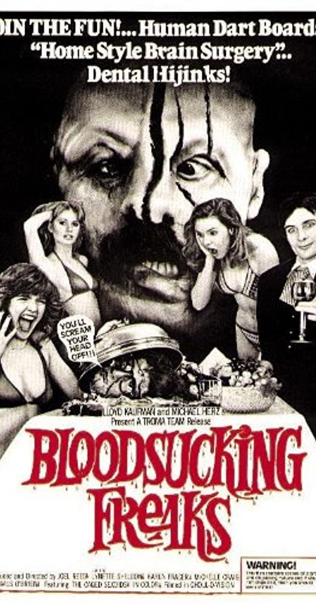Bloodsucking Freaks 1976 Movie Poster