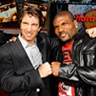 Sharlto Copley and Quinton 'Rampage' Jackson in The A-Team (2010)