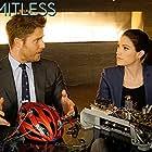 Desmond Harrington, Jennifer Carpenter, Jake McDorman, and Sophia Gennusa in Limitless (2015)