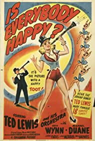 Ted Lewis in Is Everybody Happy? (1943)