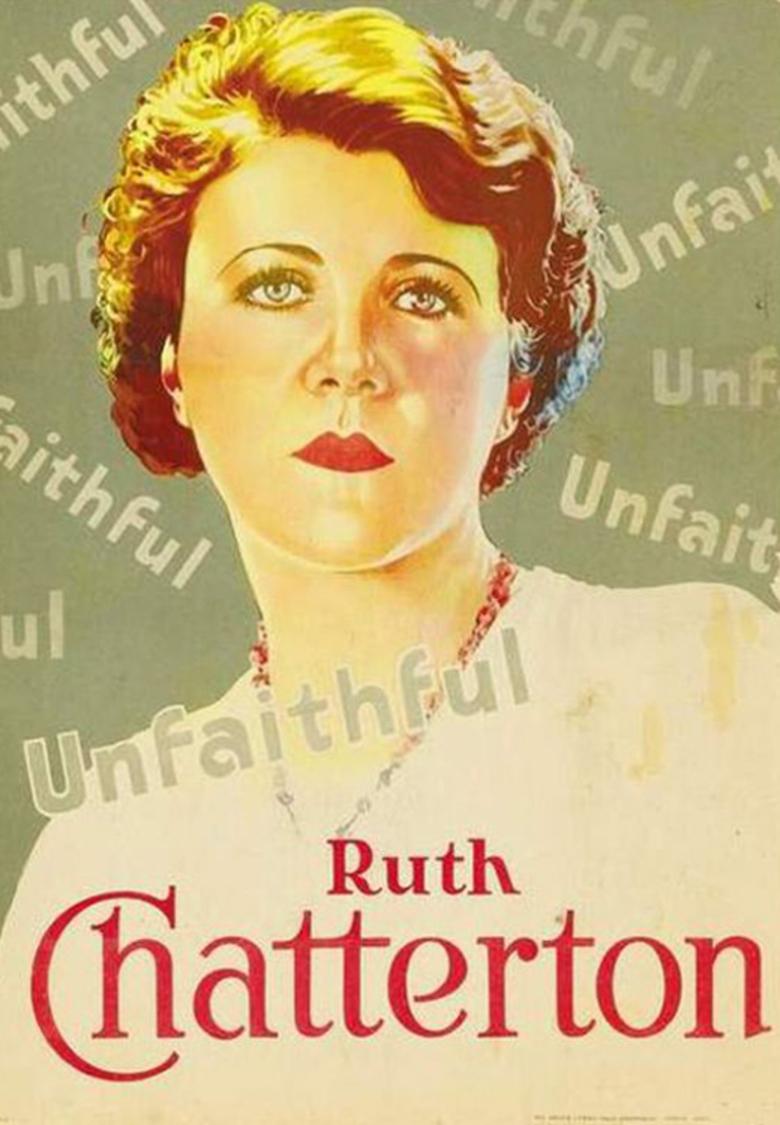 Ruth Chatterton in Unfaithful (1931)