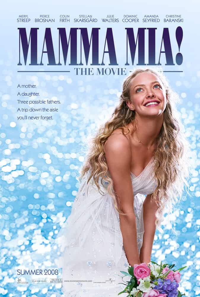 Mamma Mia 2008 Dual Audio Hindi 720p BluRay 800mb