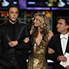 Kaley Cuoco, Johnny Galecki, and Jim Parsons in The 61st Primetime Emmy Awards (2009)