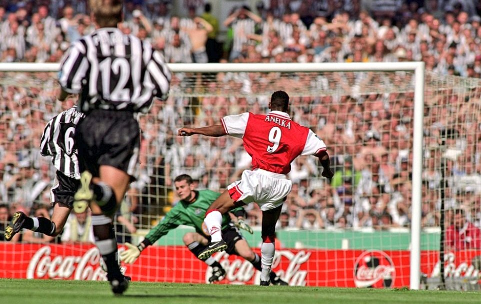 Fa Cup Final 1998 Newcastle United Fc Vs Arsenal Fc 1998