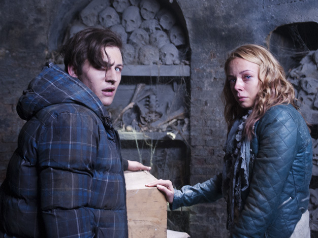 Sacha Parkinson and Will Payne in Fright Night 2 (2013)
