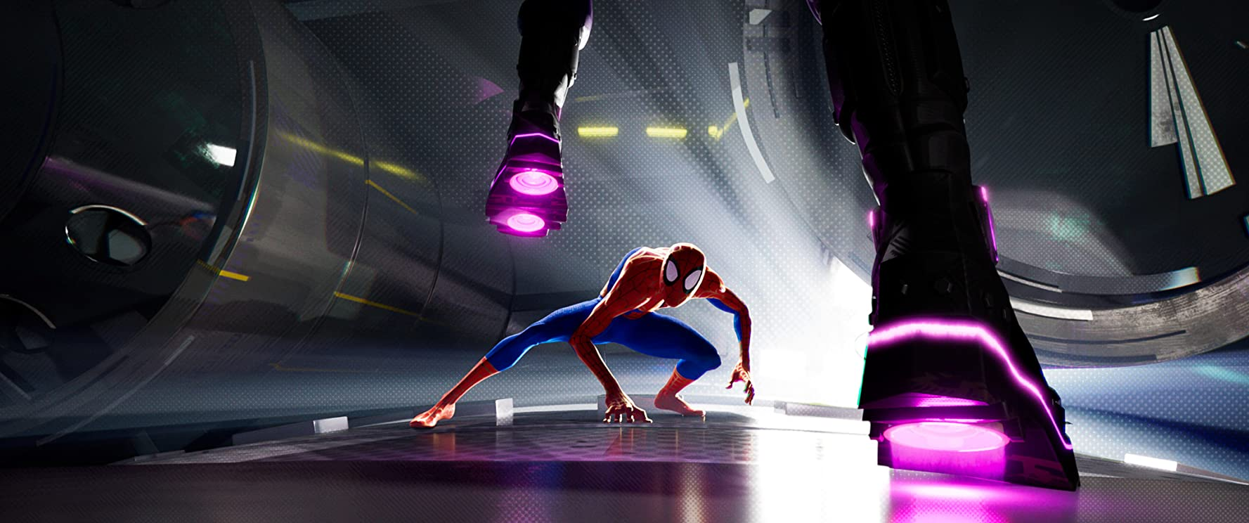 Chris Pine in Spider-Man: Into the Spider-Verse (2018)