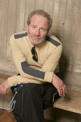 Peter Mullan at an event for On a Clear Day (2005)