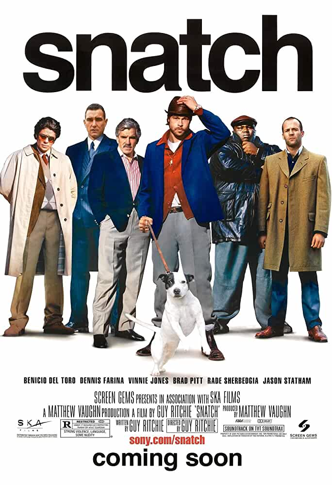Snatch (2000) – Quality of BluRay 720p – 1080p