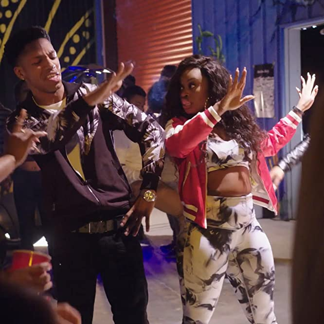 Terrence Green and Kendra Oyesanya in Step Up: High Water (2018)