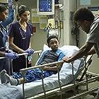 Jamil Walker Smith, Melanie Chandra, Seth Carr, and Nafessa Williams in Code Black (2015)