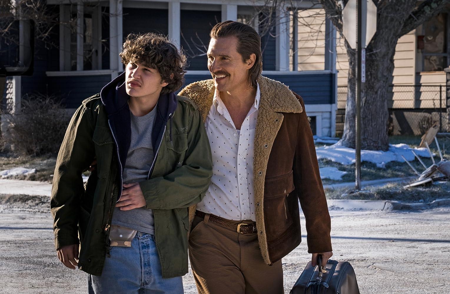 Matthew McConaughey and Richie Merritt