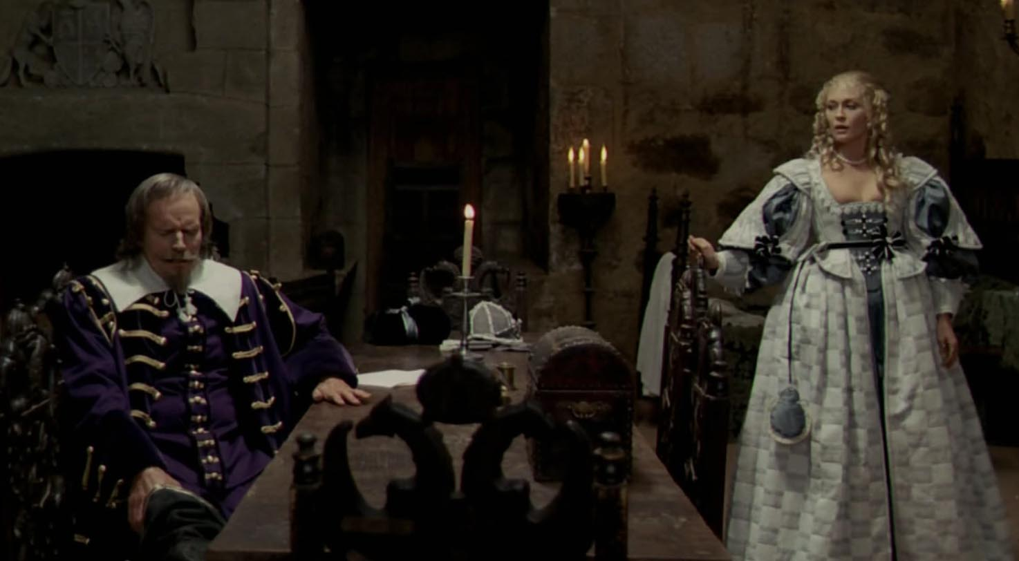 Charlton Heston and Faye Dunaway in The Four Musketeers (1974)