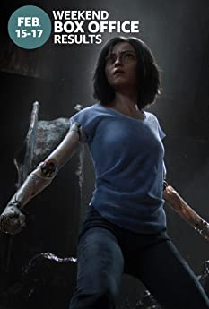'Alita: Battle Angel' topped the slow Presidents Day weekend charts, while 'Happy Death Day 2U' fell short of expectations. Here's a rundown of the top performers at the domestic box office for the weekend of Feb. 15 to 17.