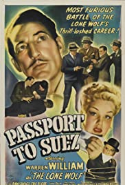 Passport to Suez Poster